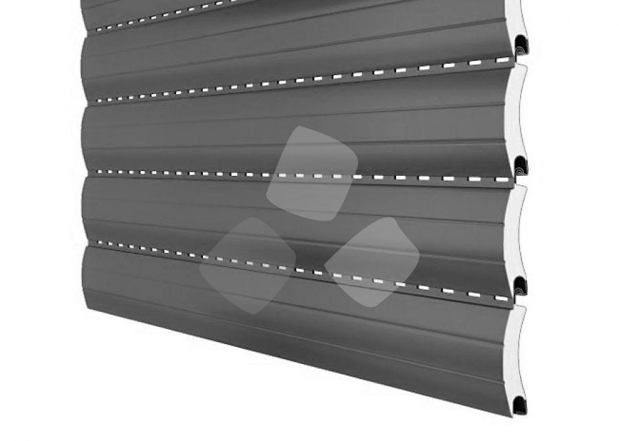 Tapparella avvolgibile in alluminio coibentate per il caldo e freddo