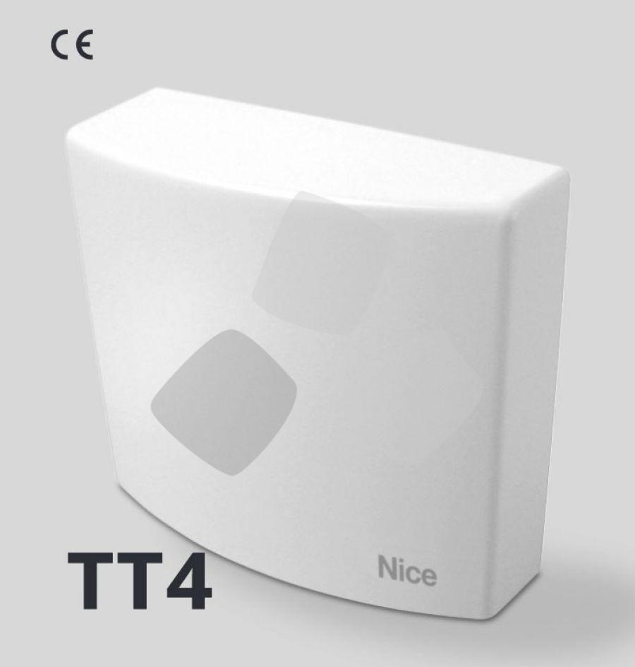 Centrale di comando Nice TT4 per tende da sole, con ricevitore integrato