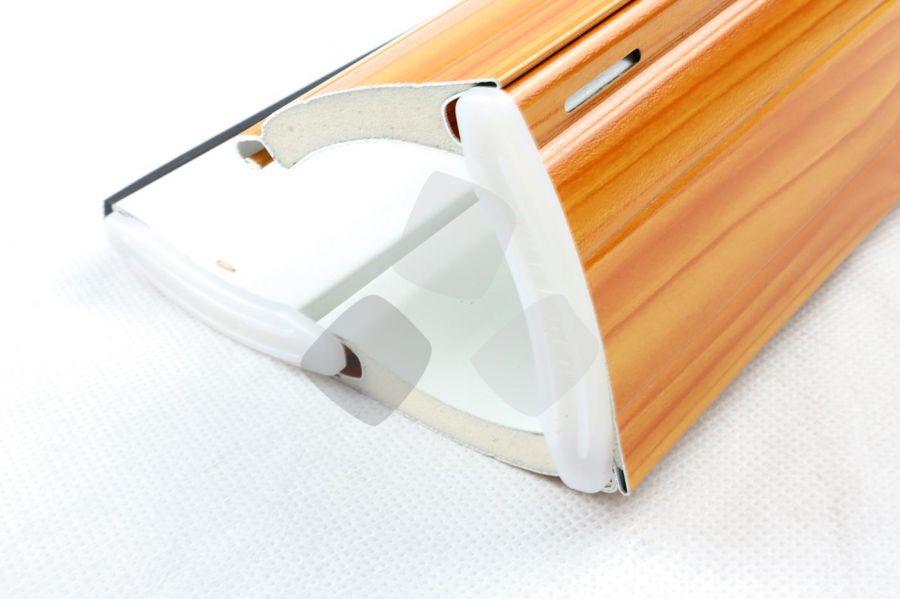 Tapparelle avvolgibili bicolore in alluminio coibentato a media densità