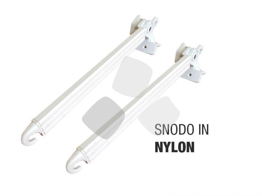 Braccetti per tende da sole a caduta snodo nylon