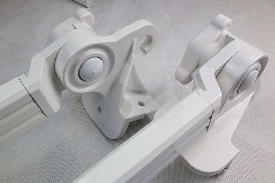 Braccetti per tende da sole a caduta snodo alluminio