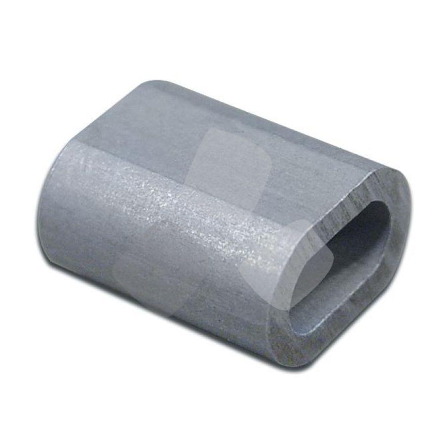 Fermaglio Alluminio X Filo Sniafil 3,4mm PZ.100