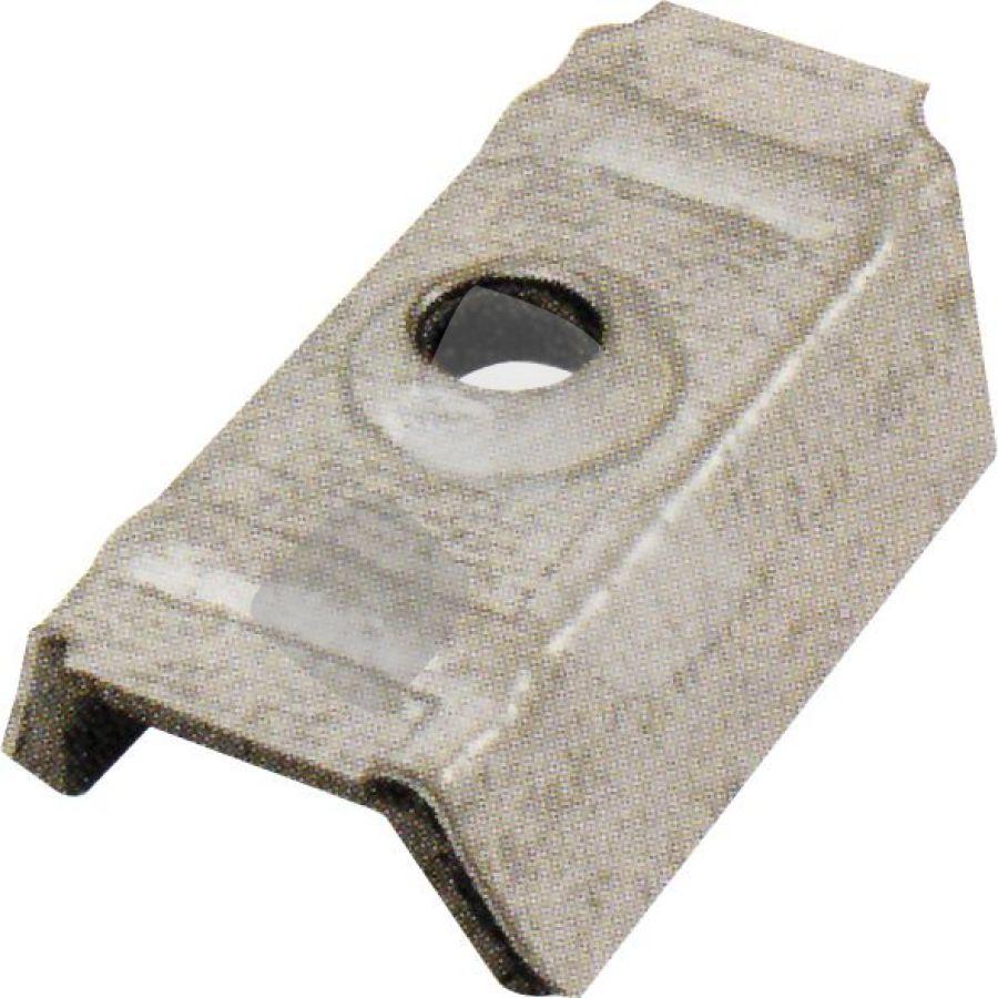 Cappellotti C/guarnizione 15x18mm Greca15 Grigio Ral 9002 PZ.100