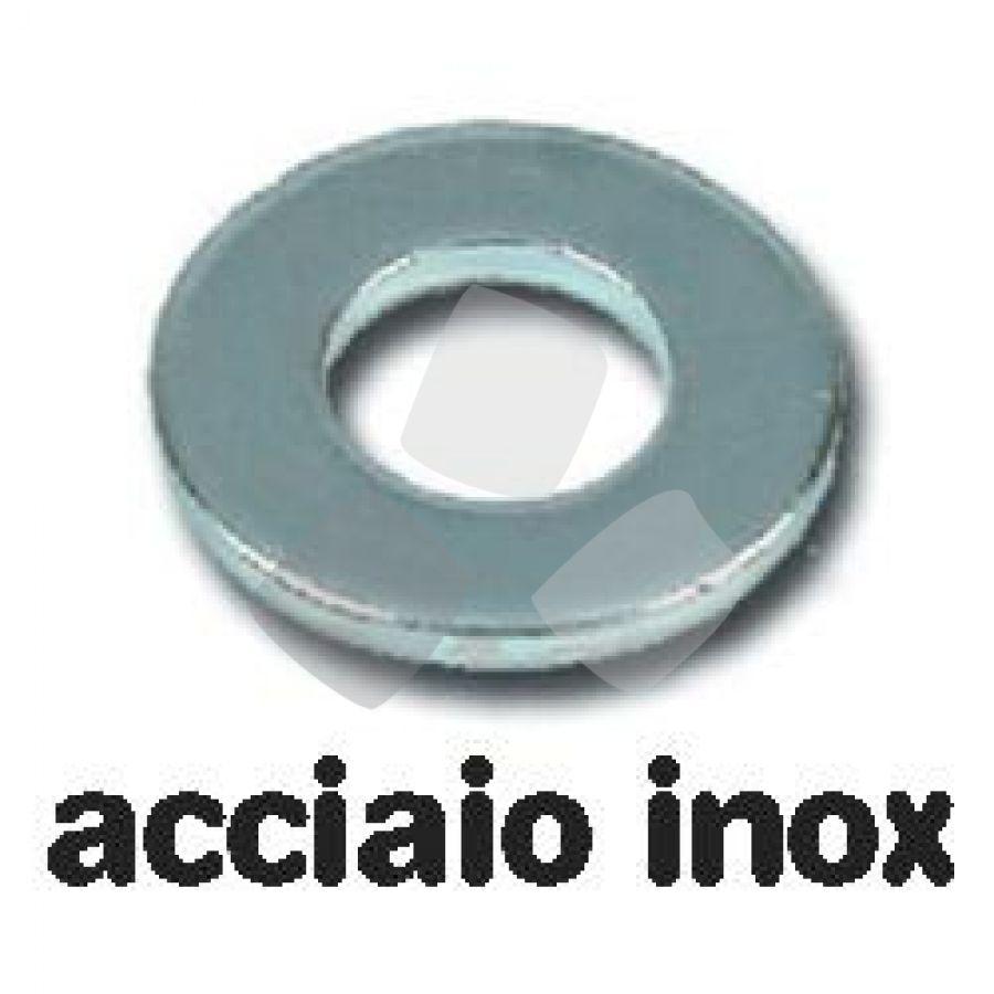 Rondelle Piane Inox Uni 6592