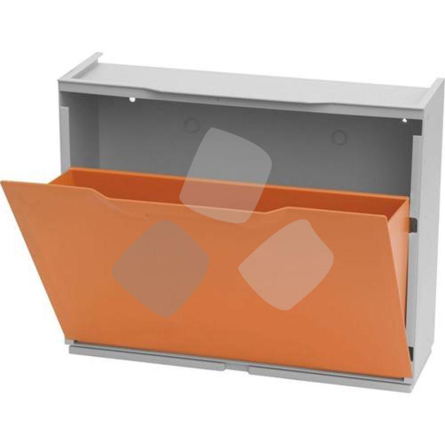 """Scarpiera Modulare """"unika"""" Colore Arancio"""