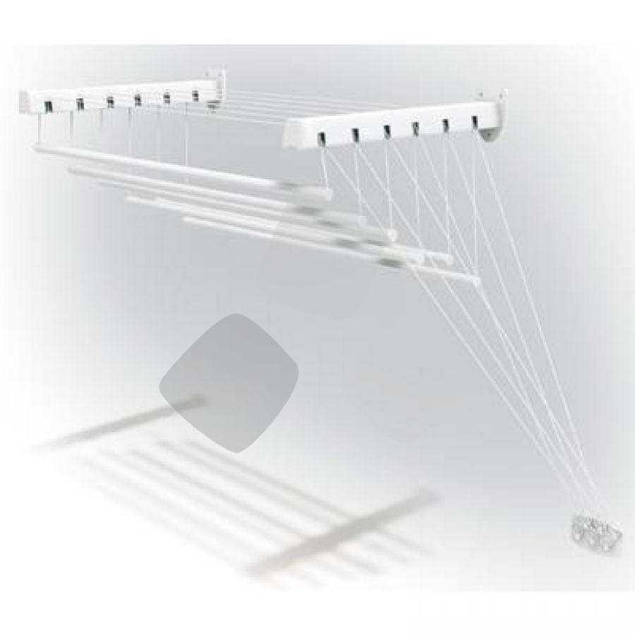 """Stendibiancheria Parete C/saliscendi """"lift"""" 140cm Bianco"""