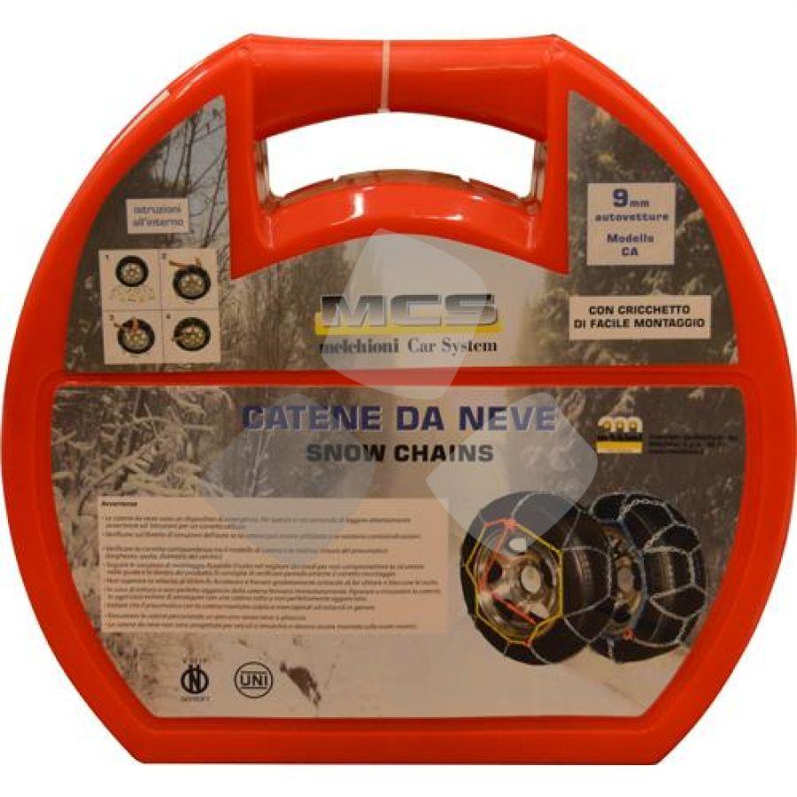 """Catene Da Neve X Auto """"ca100"""" 9mm Omologate"""