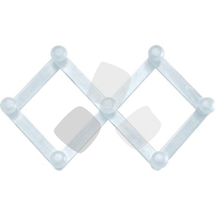 Appendiabiti Legno Bianco Estensibile 7 Posti