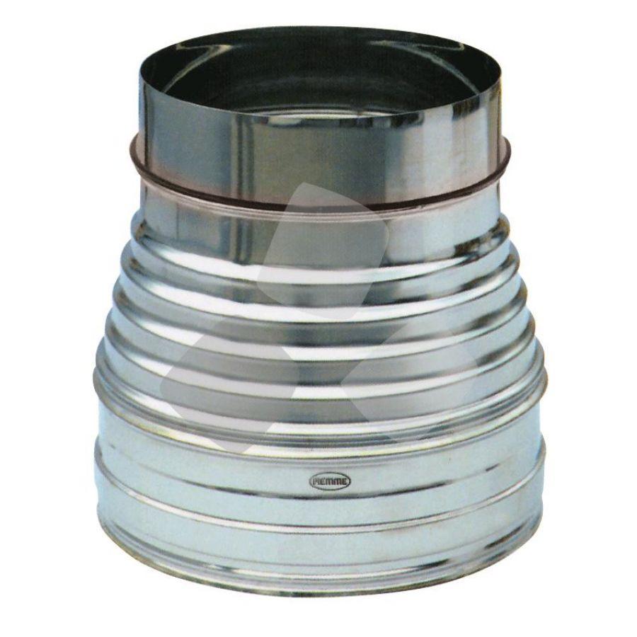 "Riduzione X Canna Fumaria Acciaio Inox diametro 250/180mm ""speedy"""