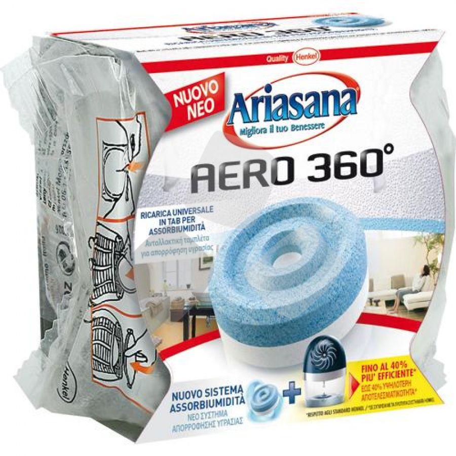 "Deumidificatore Ricarica ""ariasana Aero 360° Inodore"" 450gr"