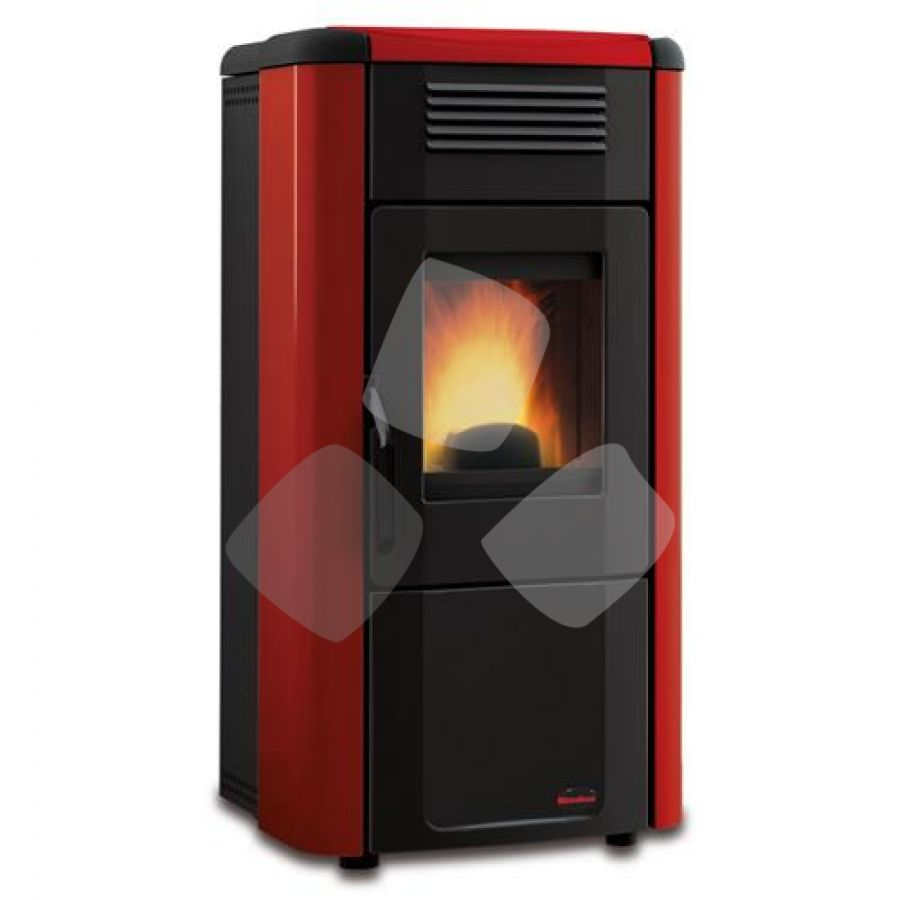 "Stufa Pellet 11,1kw ""viviana Plus"" Nordica Bordeaux"