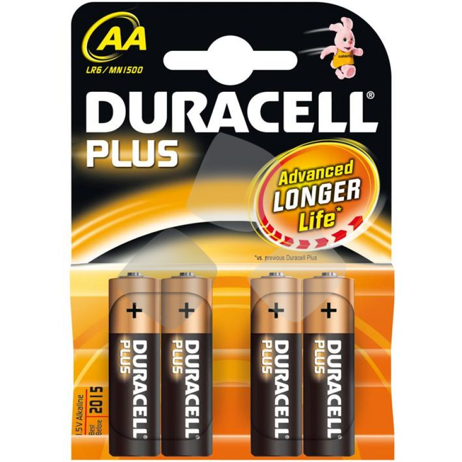 Batterie Duracell Alkaline Stilo (bl.4pz.)