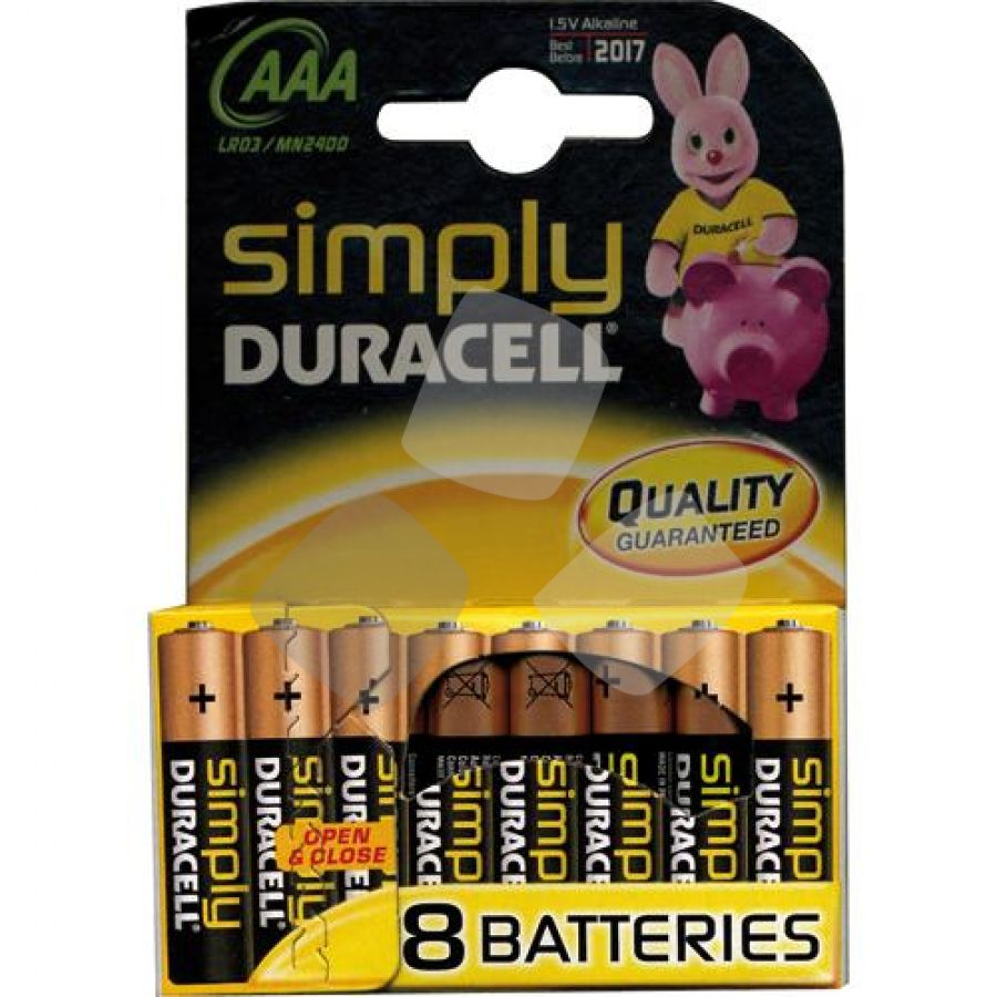 Batterie Duracell Simply Ministilo (bl.8pz.)