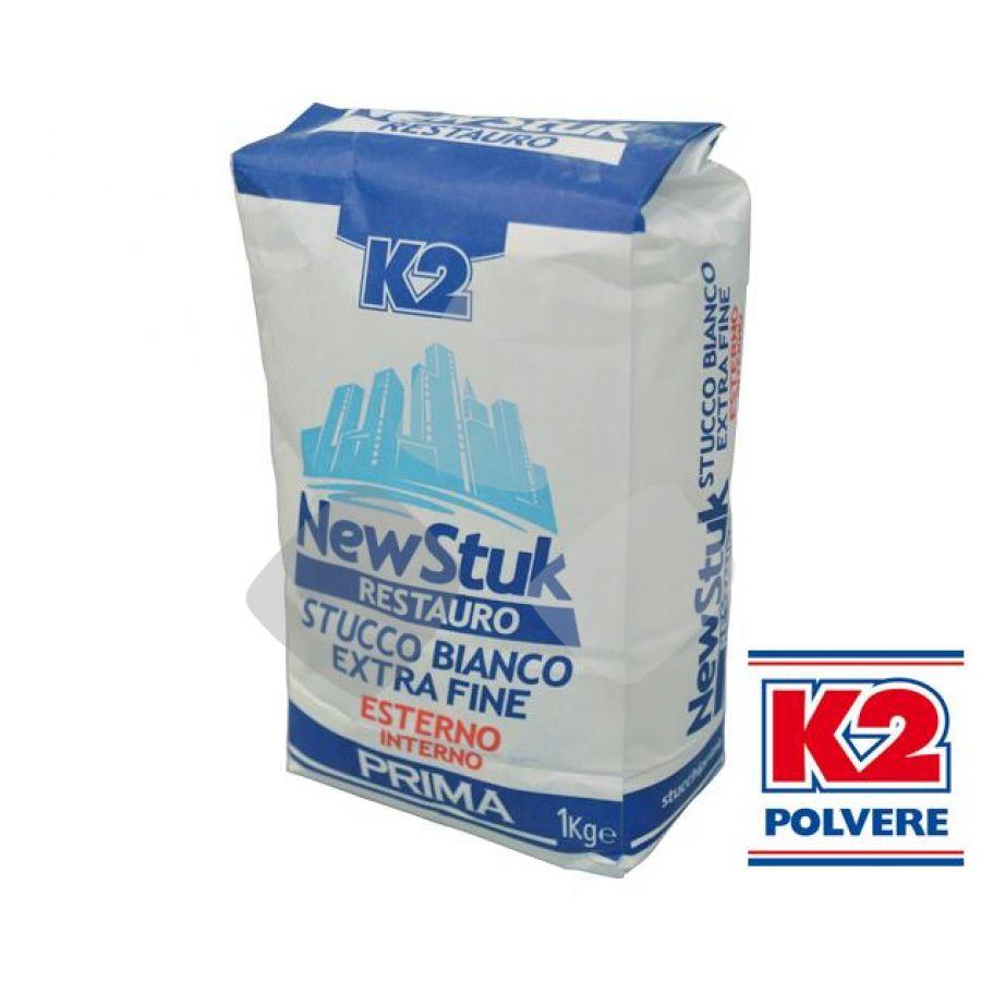 "Stucco In Polvere K2 ""new Stuk Restauro"" 1kg Est./int."