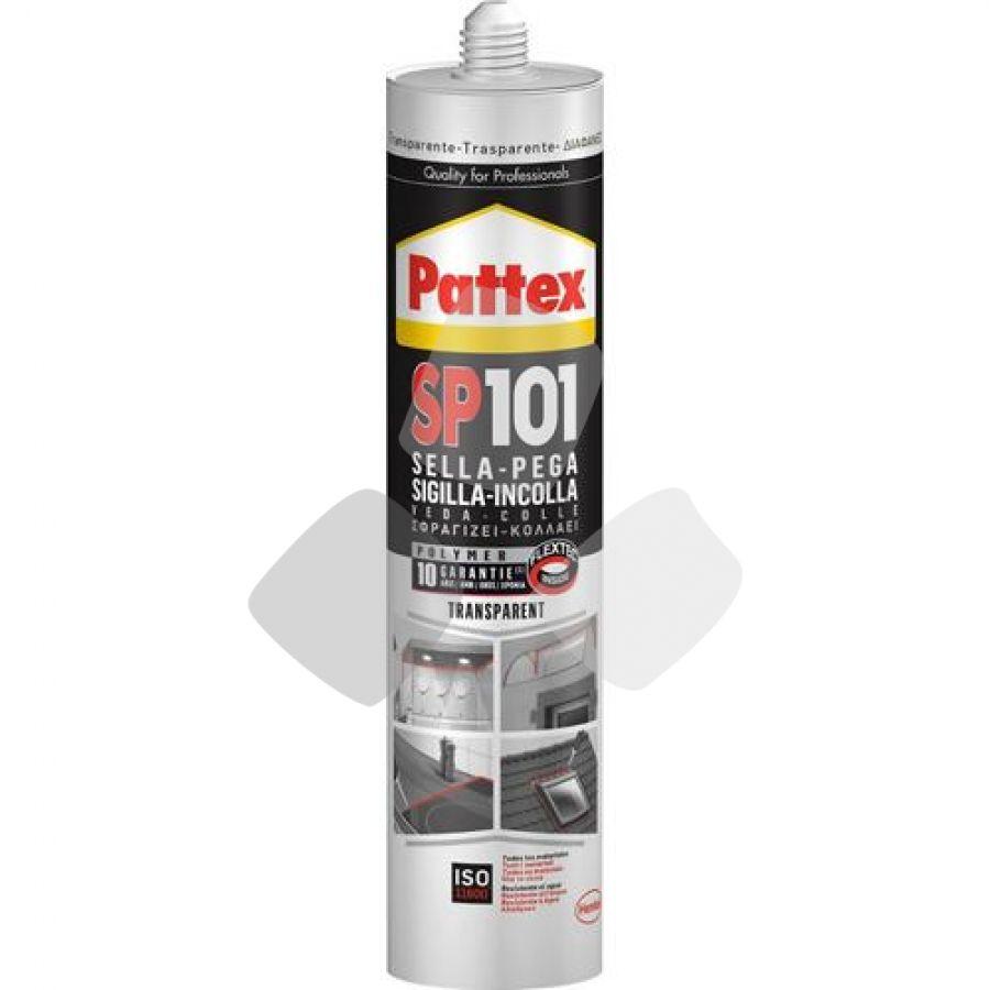 Silicone Sigillante Polimero Pattex Sp101 Bianco 280 Ml