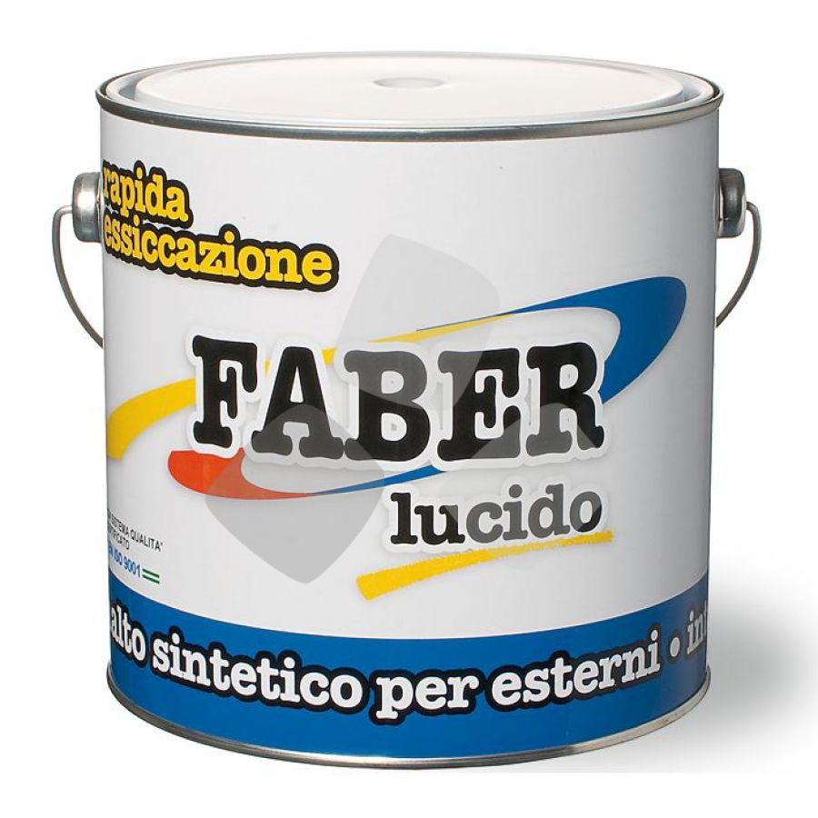 Smalto Faber 2,500 Bianco Ral 9010 V