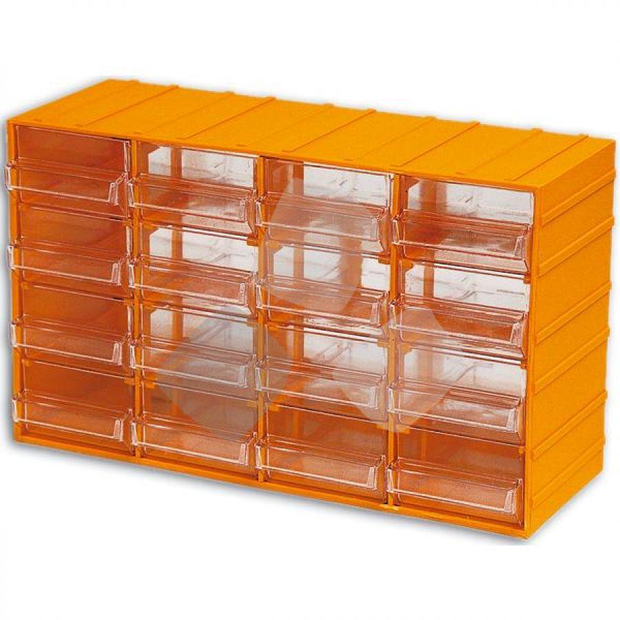 Cassettiera Plastica Maurer 16 Posti misura 382x148x230h mm.