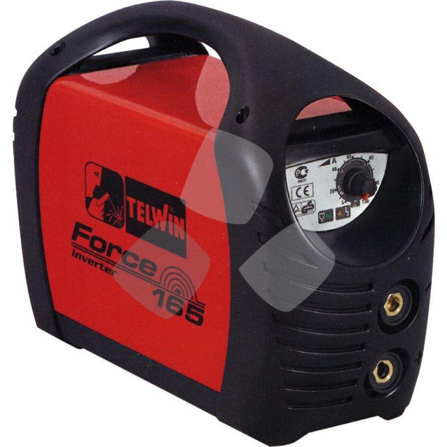 "Saldatrice Inverter Telwin ""force165""-150a C/accessori + Valigetta"