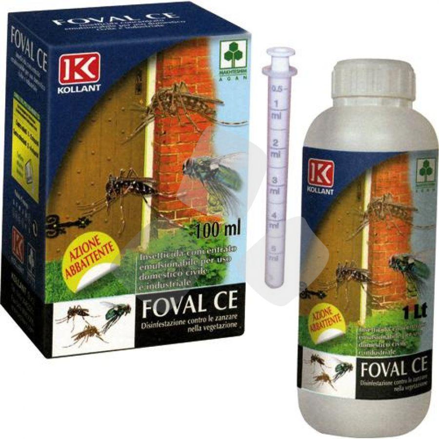 Insetticida Antimosche/zanzare Concetrato Emulsionabile Foval Ce 250ml