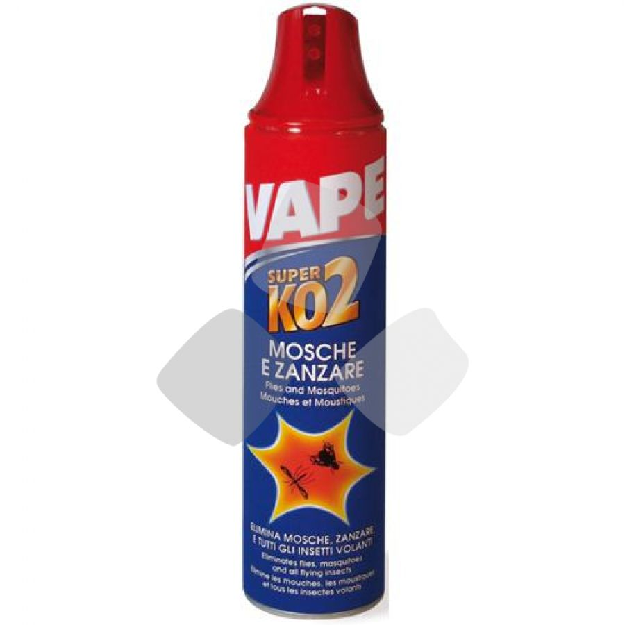 "Insetticida Antimosche/zanzare ""super Ko 2"" Vape Spray 400ml"