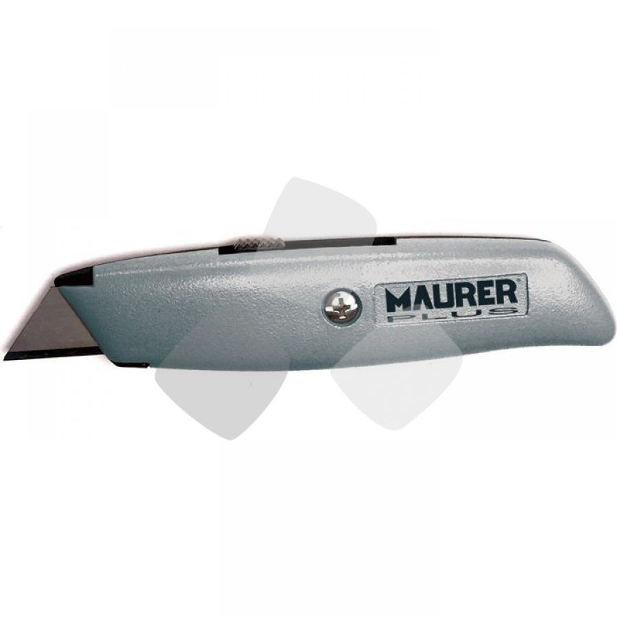 Cutter Lama Trapezio Retrattile Maurer Plus - Cf. In Blister