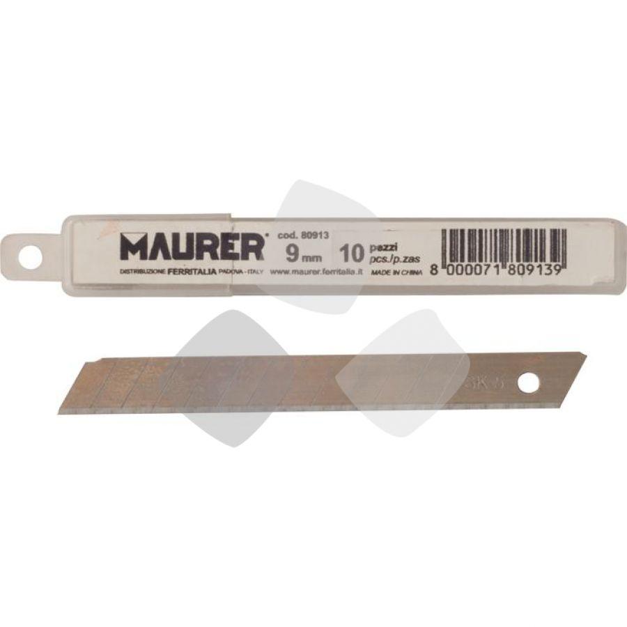 Lame Spezzare 9 Mm.(conf.10 Pz.) X Cutter Maurer - Cf. In Scatola