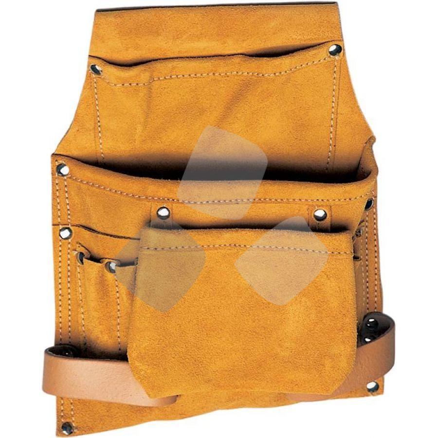 Borsa Carpentiere Crosta 2 Tasche C/portamar Maurer - Cf. In Blister