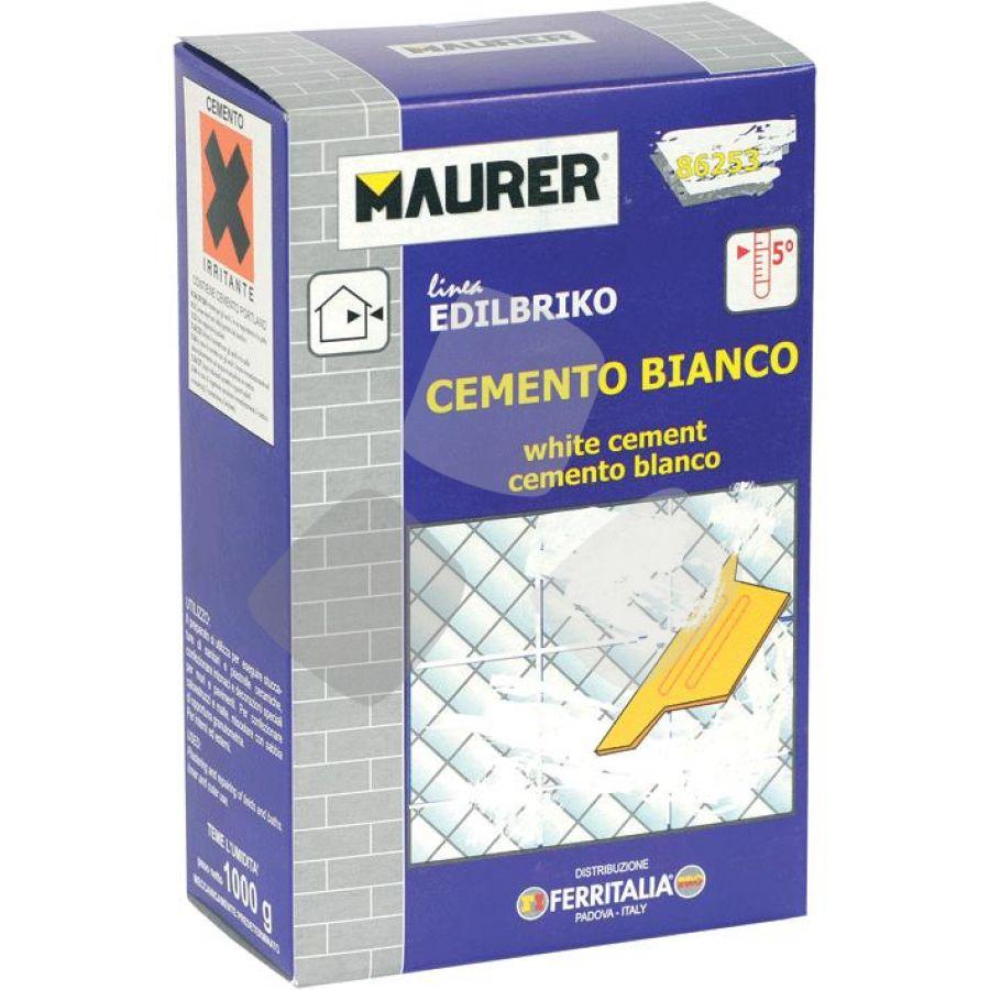 Cemento Bianco Maurer Kg.1 PZ.12