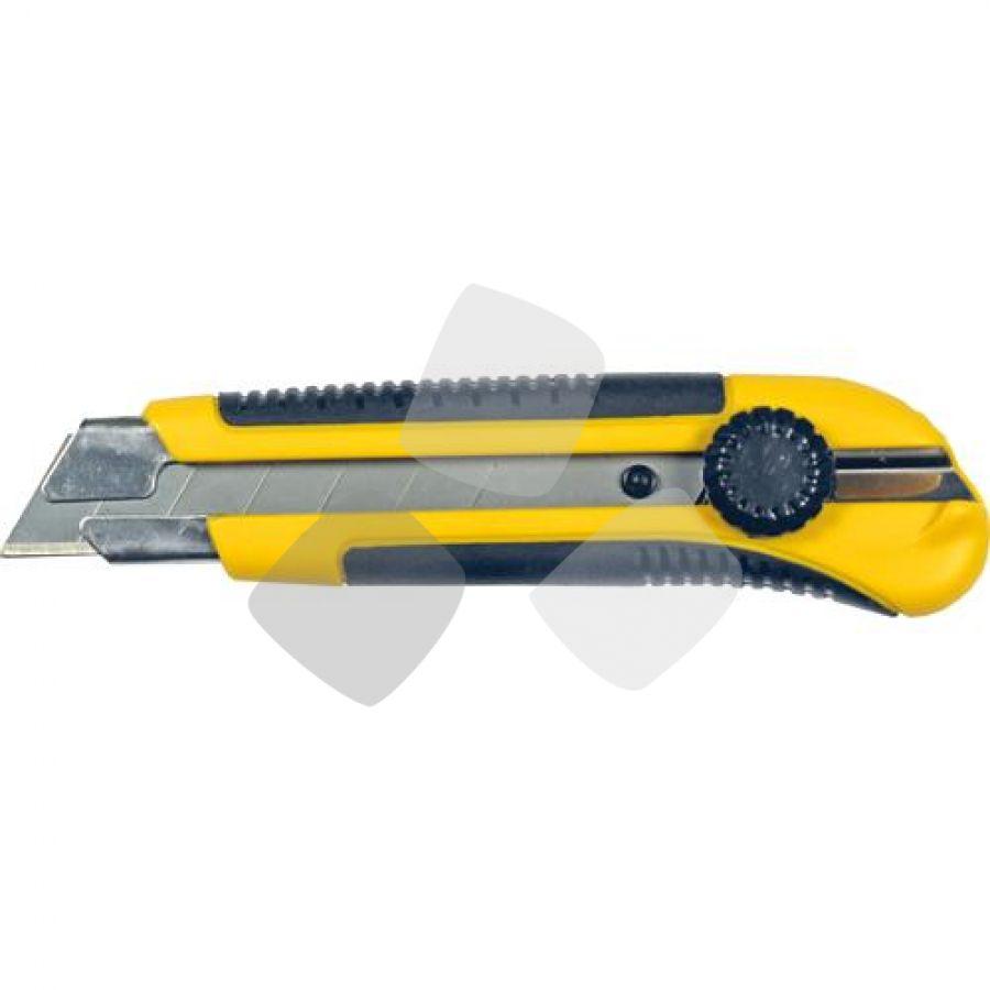 Cutter Lama Spezzare 25mm Guida Metal Maurer C/magnete - Cf. In Blister