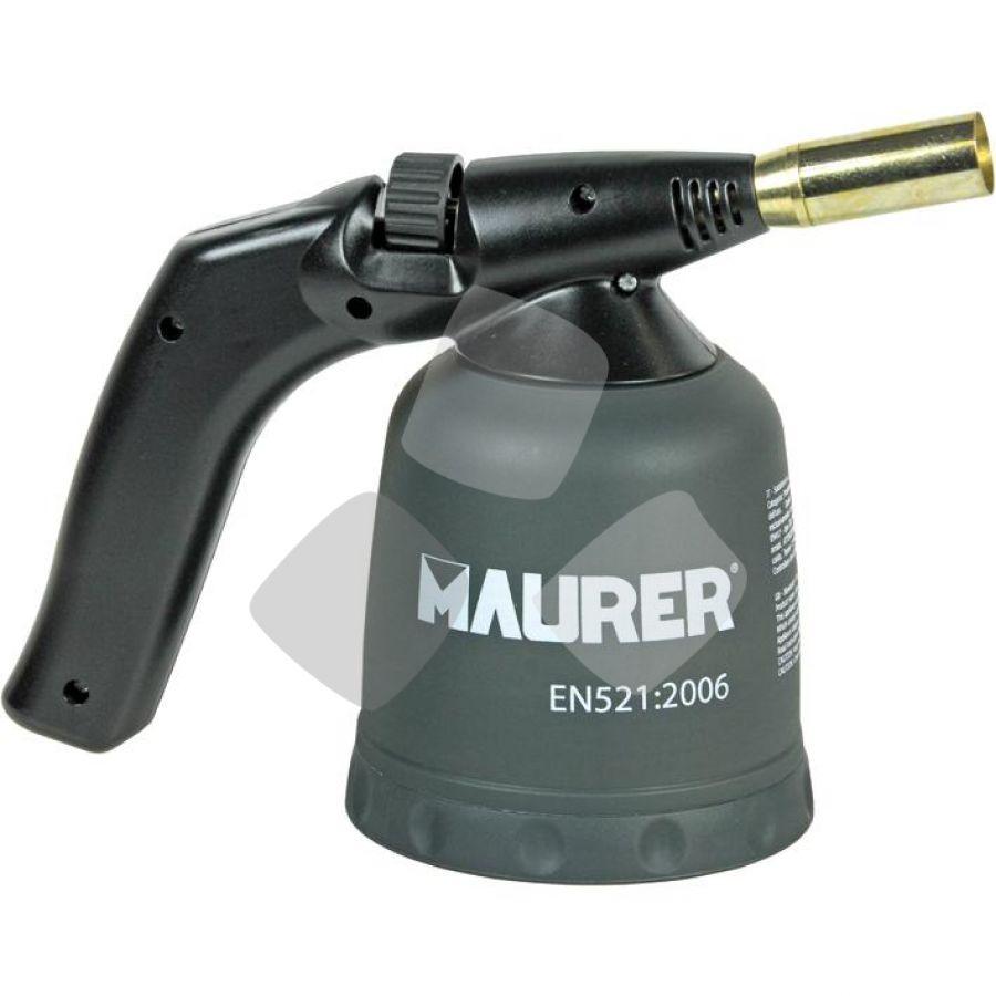 Saldatore Gas X Cartuccia Acc.manuale Maurer - Cf. In Scatola