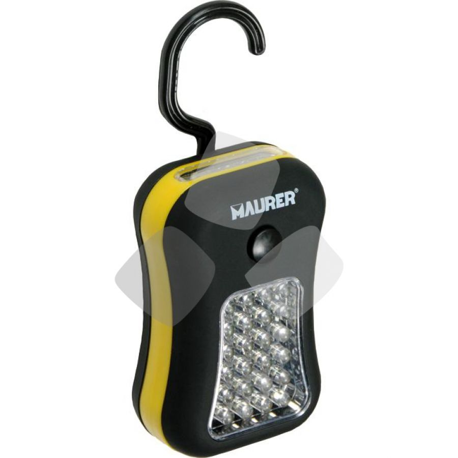 Torcia Batteria Magnetica Maurer 24+4led (3xaaa Non Incluse)- In Blister
