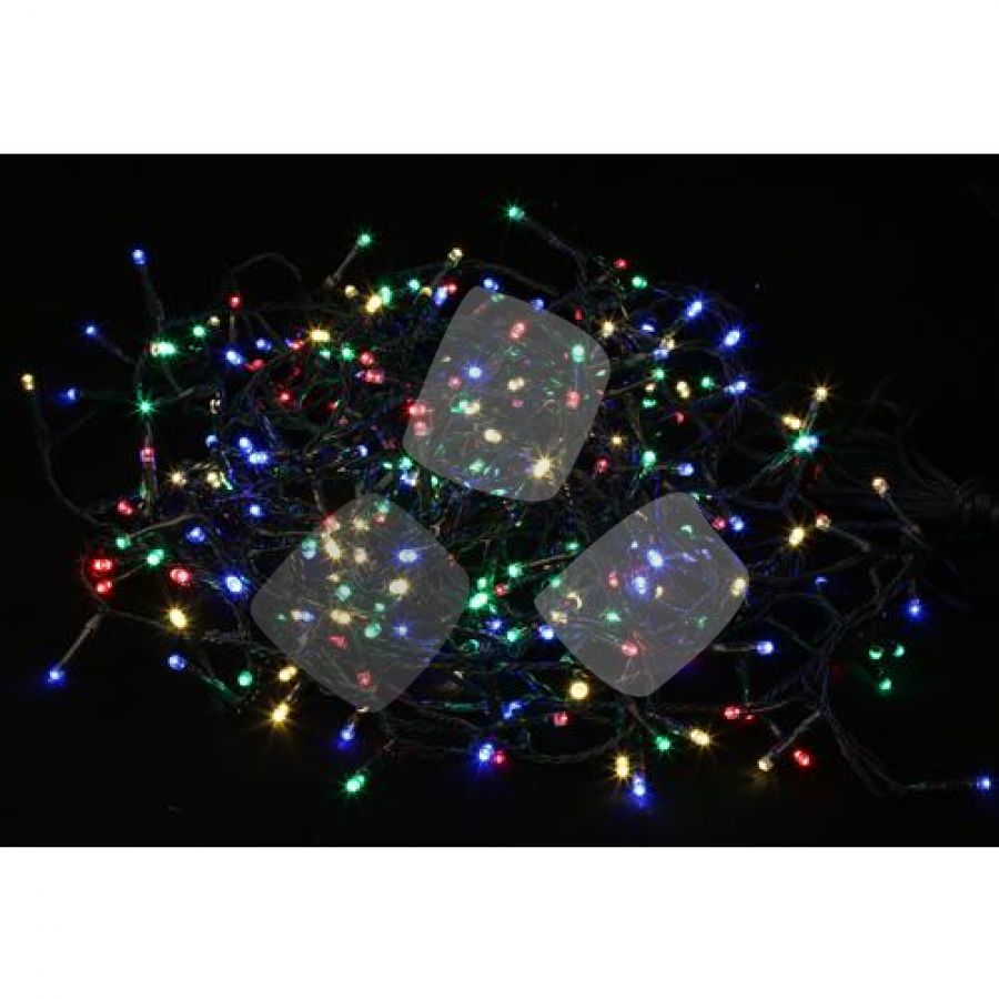 Natale - Luci 100 Led L.multicolor Int/est Maurer - Cf. In Scatola