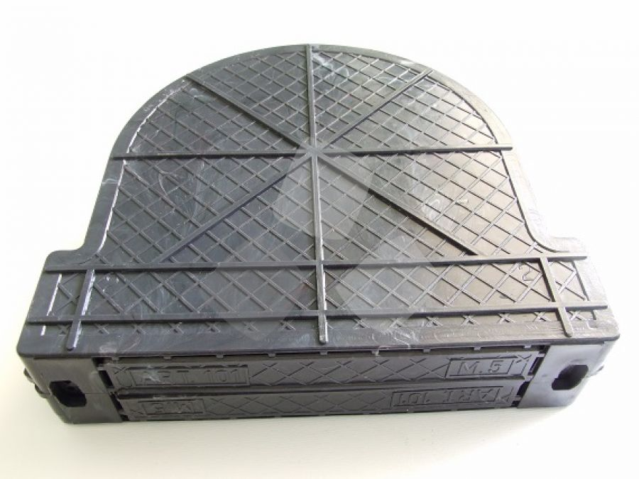 Cassetta per avvolgitore tapparella da mt.6 interasse cm.16,5