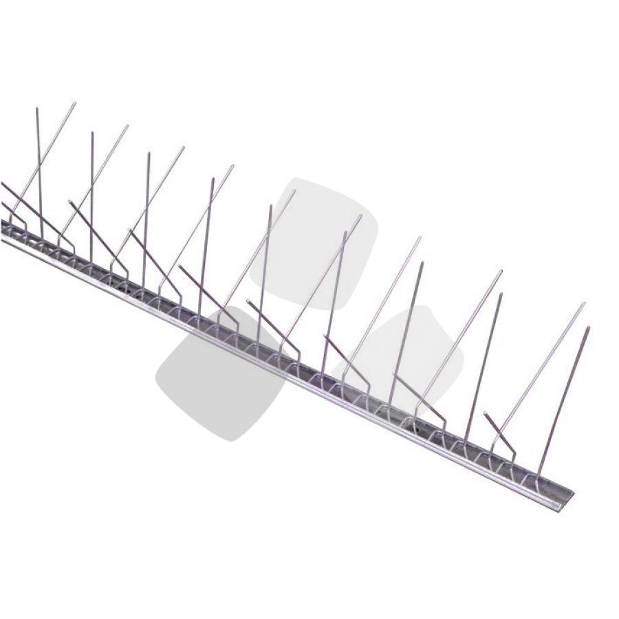 Dissuasori per Piccioni con Base Inox Flessibile PZ.25 Lungo cm.100