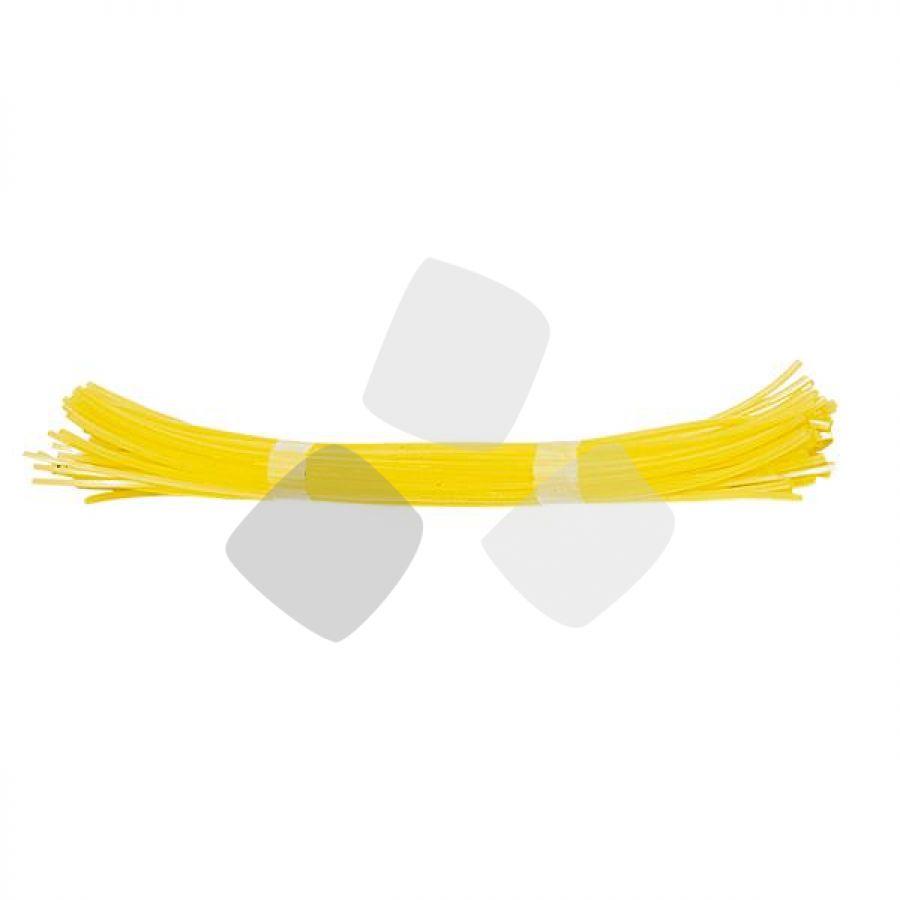 Filo Nylon Decesp.papillon Quadro 3,0mmx380mm - Cf. 50 Spezzoni