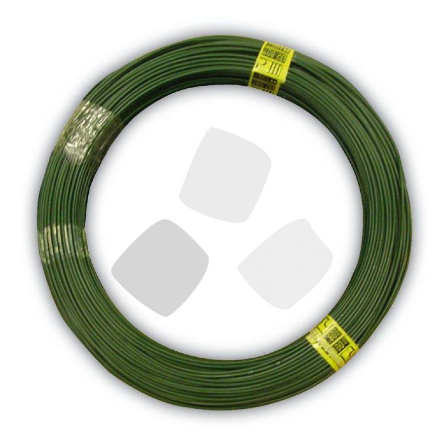 Filo Plasticato Verde in Matassa Cavatorta 100mt 1,5mm