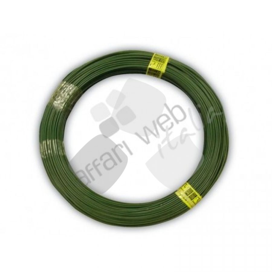 Filo Plasticato Verde in Matassa Cavatorta 100mt 2,8mm