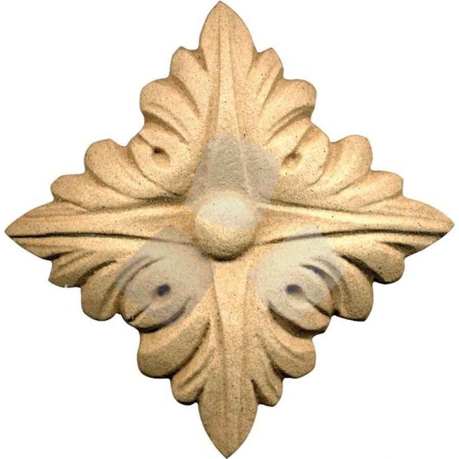 FREGIO per mobili in pasta di legno 034515 misura 55x55h mm.