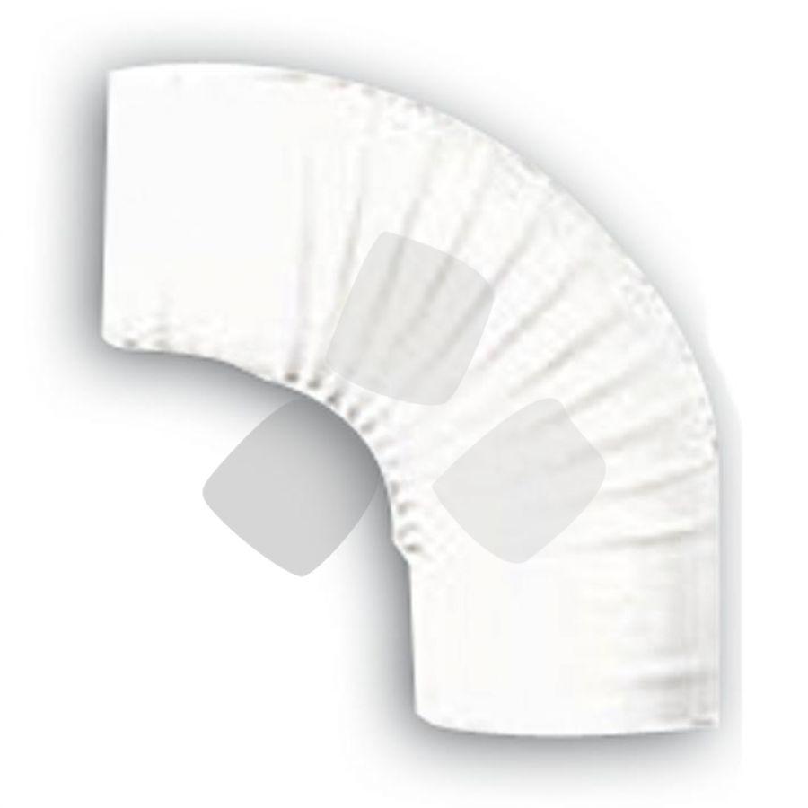 Gomito Per Stufa diametro cm. 8 Bianco