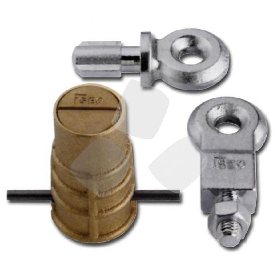 Gruppo di fissaggio ISEO 00490.7 per serrande