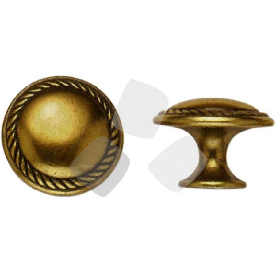 POMOLO per mobili oro valenza 24223Z misura 25/30mm.