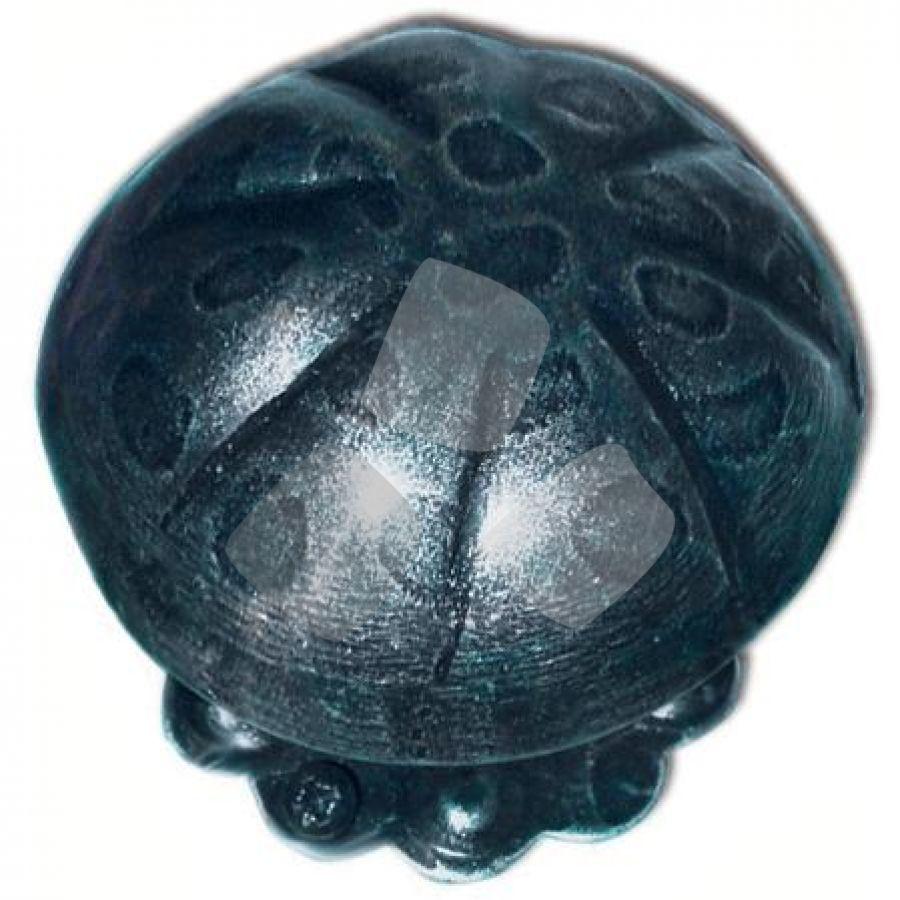 POMOLO per portone IN FERRO BATTUTO 236 misura diametro 72mm.