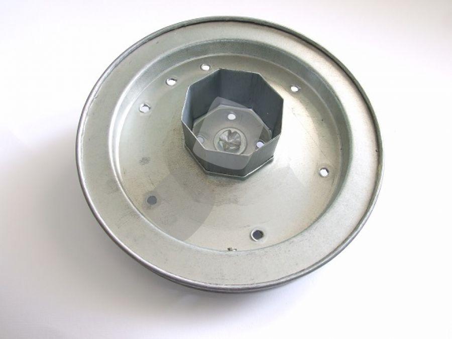 Puleggia tapparelle per arganello diametro cm.22 fune acciaio