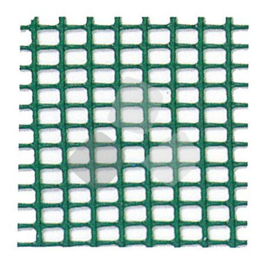 Rete Pvc Quadretta Verde 0,5x0,7mm H100cm 50mt