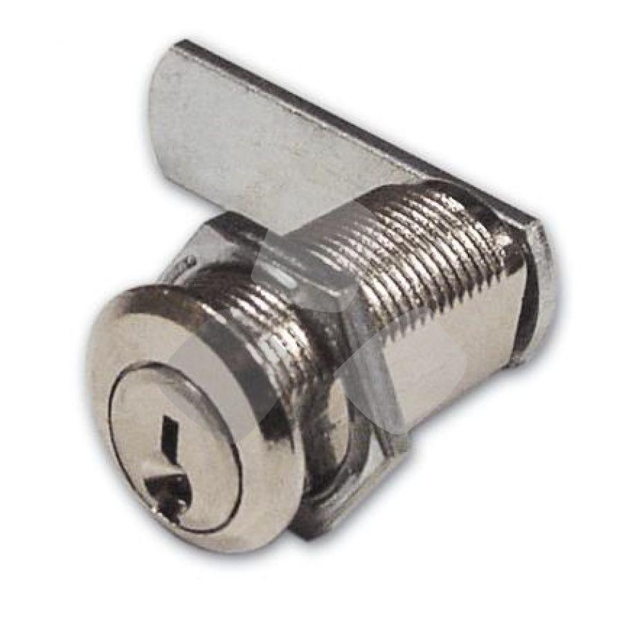 """SERRATURA a cilindro per antina nichelata """"216"""""""