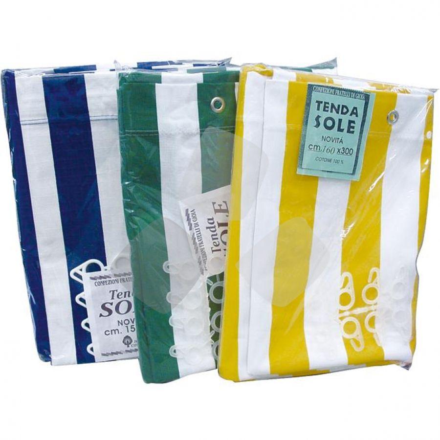 Tenda Da Sole 290x290 Bianco Giallo