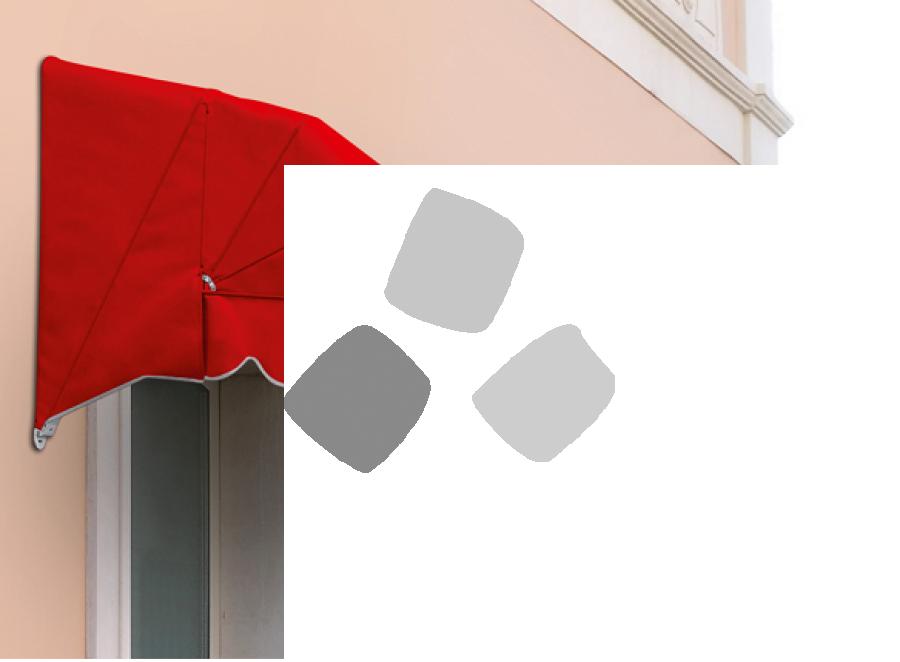 Tenda da sole a cappottina Prolungata K35 5 profili 4 spicchi